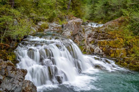 Mill City, Oregón: Waterfall of the Children near Merten Mill