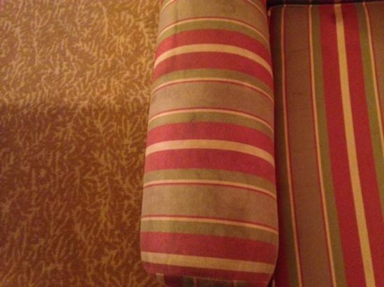 Country Inn & Suites by Radisson, Petersburg, VA: this is the stained chair