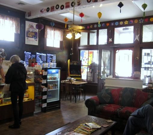 Strange Brew : A view of the interior