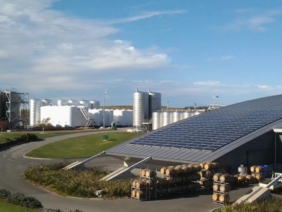 Yealands Estate Winery: Beautiful scenery in autumn