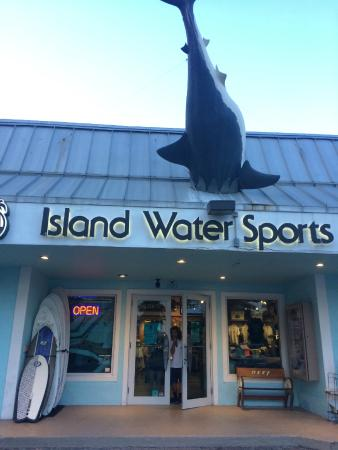 Island Water Sports: Outfront