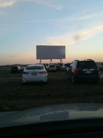 Kyle, Canada: Clearwater Drive-In Theatre
