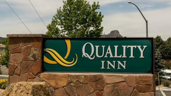 exterior sign picture of quality inn prescott tripadvisor