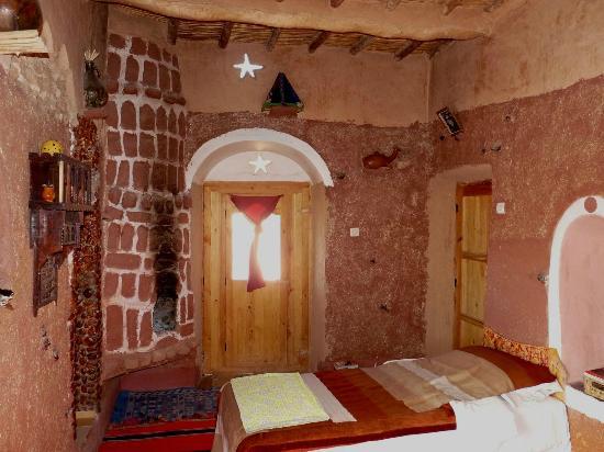 Kasbah Itran: Une chambre berbère
