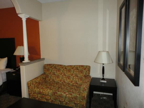 Comfort Suites Westchase: Living Room