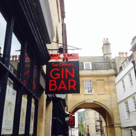 Image result for the canary gin bar bath
