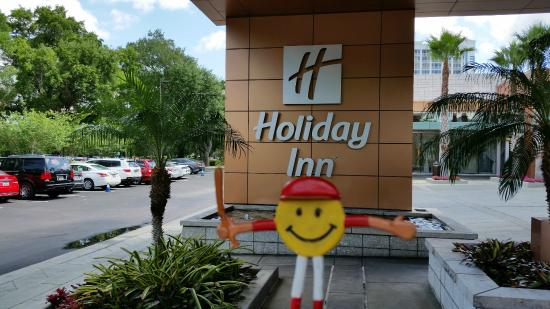 Mr Smiley At Holiday Inn Orlando Downtown Disney Area