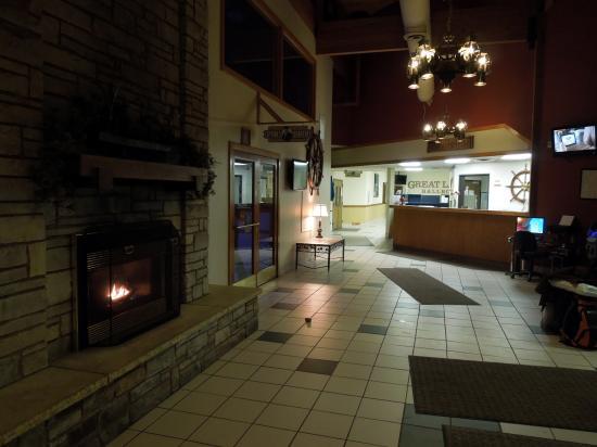 Barkers Island Inn: Lobby
