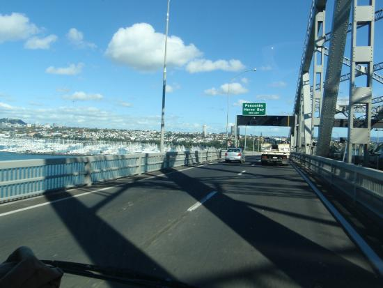 auckland harbour bridge picture of auckland harbour bridge auckland central tripadvisor. Black Bedroom Furniture Sets. Home Design Ideas