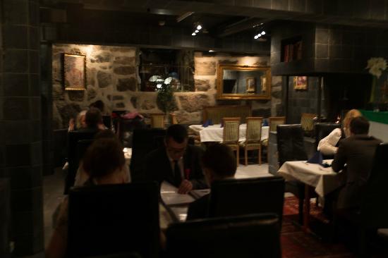 Zarinas Restaurant atmosphere....