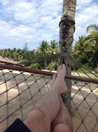 Le Meridien Shimei Bay Beach Resort & Spa: Ahhhhhhhhhh... Quiet time on the beach!