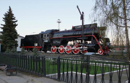 Monument Locomotive