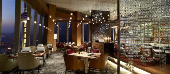 The Ritz-Carlton Shanghai, Pudong: Scena - dinner setup