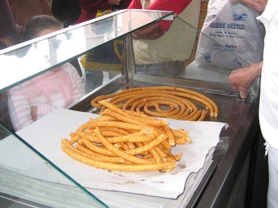 Mercado Central de Abastos: チュロス