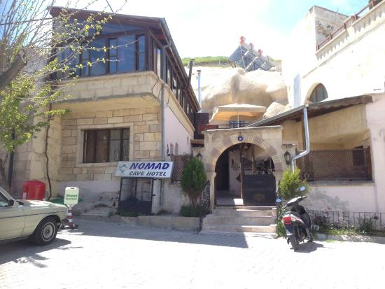 Nomad Cave Hotel: vue exterieure de l'hôtel