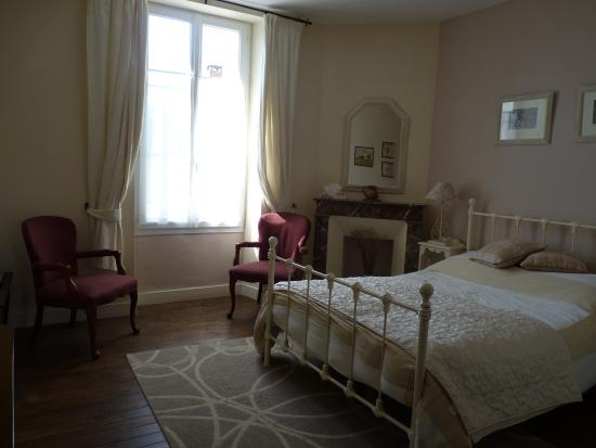 Les Lauriers: Bordeaux, double en-suite room