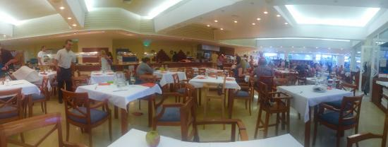 The main dinning area