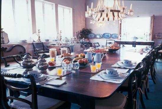Quinta Da Alcaidaria-Mor : Sala de jantar