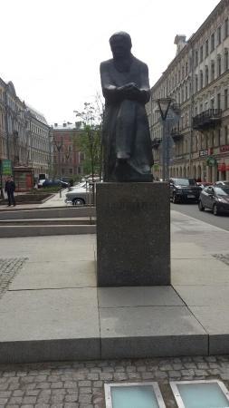 Памятник Достоевскому Ф.М.