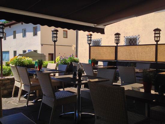 Restaurant Kouzina: Die Terrasse