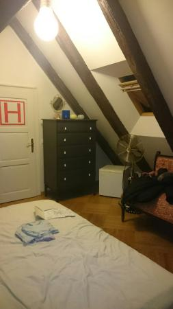 Small Luxury Palace Residence: Our Attic Room number 8