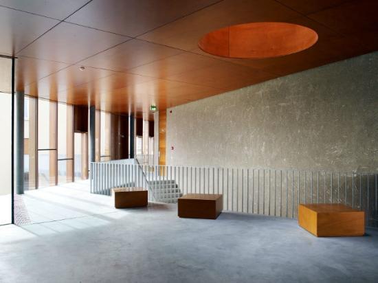 Youth Hostel Remerschen: The modern, spacious interior design of our hostel