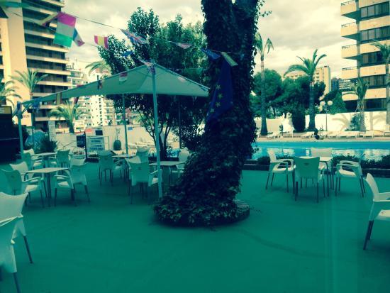 The aftermath of the flood upstairs kuva bermudas hotel benidorm costa blanca benidorm - Apartamentos bermudas benidorm ...