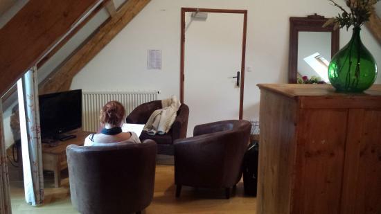 La Grange aux Marmottes : peti salon