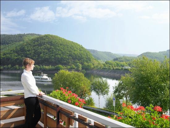 Hotel Paulushof: Blick vom Balkon