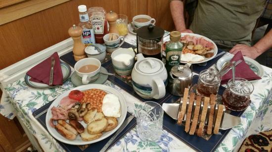 Burnlea Bed & Breakfast: Full breakfast