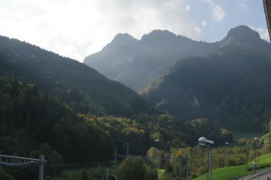 Montbovon, Швейцария: Aussicht