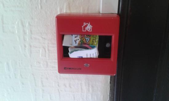 Drumnadrochit Hotel: Fire alarm at the Drumnadrochit