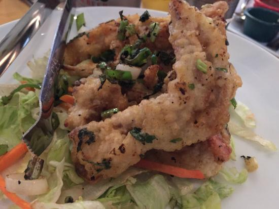 Bamboo Fine Asian Cuisine: Spicy soft shell crab