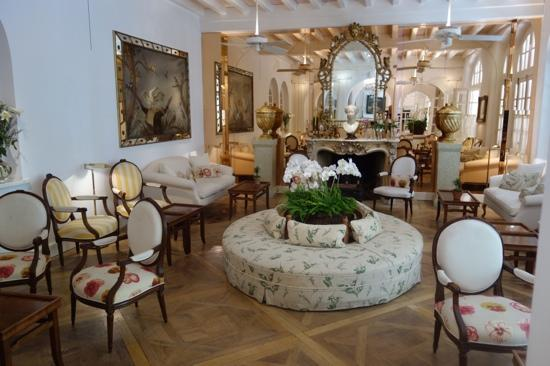 Hotel Restaurant Minvielle : the lounge in the main house