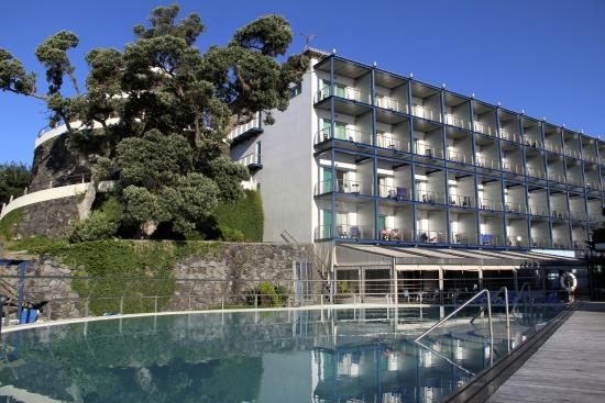 Hotel do Caracol : Fachada Lado Mar