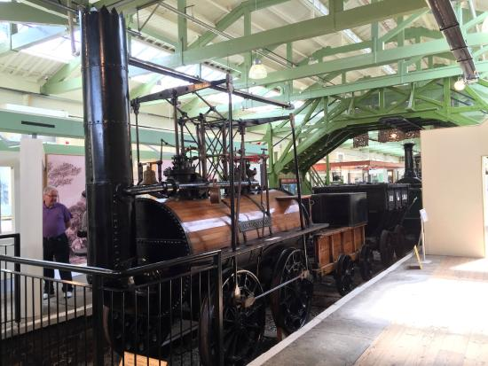 Steam trains in the museum