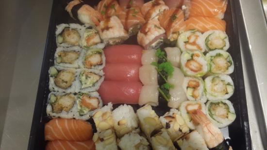 Sunshine Sushi: Sushi mangue