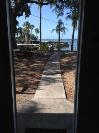Buchan's Landing Resort: View from Front Door