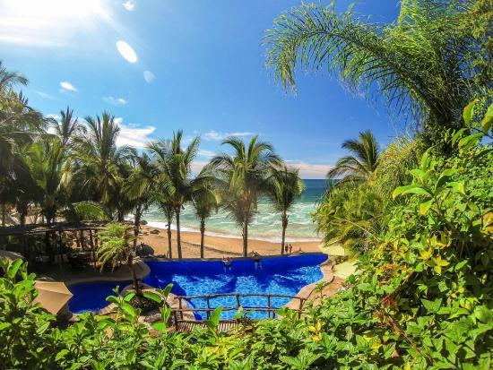 Playa Escondida: Pool view