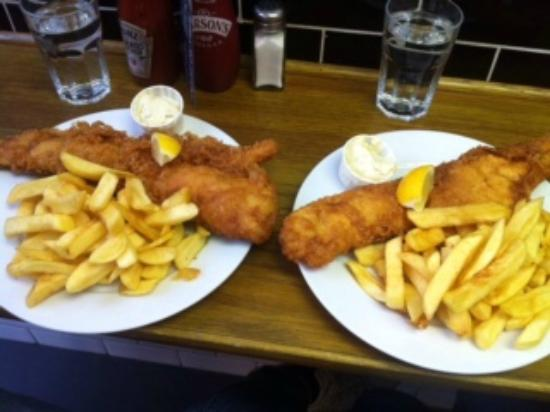 Baileys fish and chips london hammersmith fulham for Fish and chips london