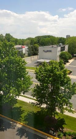 Hampton Inn Fairfax City: View from my room.