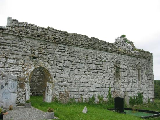 The Burren, Ireland: Outside Church