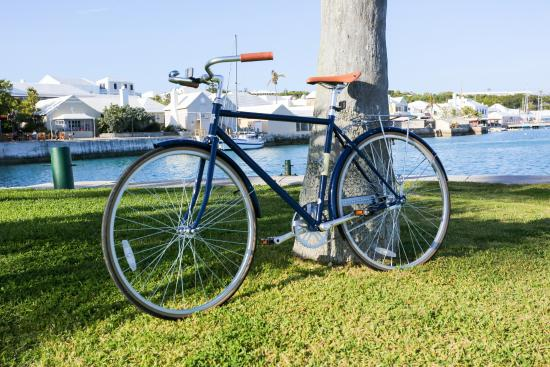 St. George's Parish, Bermuda: Vintage-Style Cruiser bicycles