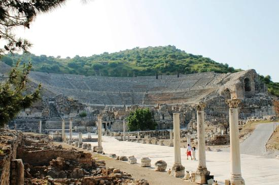 Theatre gymnasium - Efes Antik Kenti Tiyatrosu, Selçuk ...