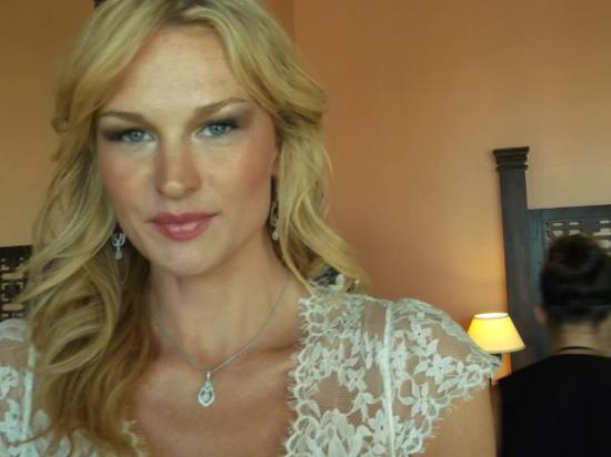 Dunmore Town, Harbour Island: BRIDAL HAIR & MAKEUP FOR WORLD FAMOUS MODEL AMY LEMMONSAMY L