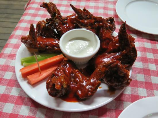 Jerry's BBQ and Grill: Buffalo Wings! Seriously the best!