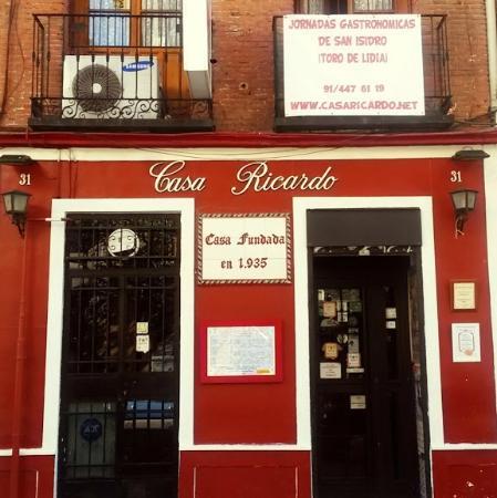 Casa ricardo madrid fotograf a de restaurante casa ricardo madrid madrid tripadvisor - Casa ricardo madrid ...
