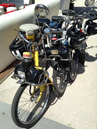 Hotel Villa Nina: Must do the Solex experience!