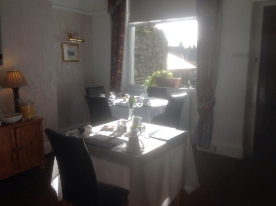 Glenholme Guest House : Breakfast room