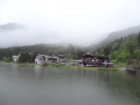 Alte Wurzhütte: Une belle vue (avec le soleil ce serait mieux)